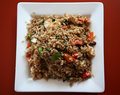 Thai food, fried rice Royalty Free Stock Image