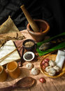 Thai food ingredient still life of hot and spicy Royalty Free Stock Images