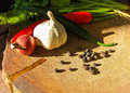Thai food ingredient still life of hot and spicy Royalty Free Stock Photos