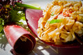 Thai Food - Pad Thai Royalty Free Stock Photo