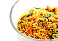 Thai food, spicy fried noodle with pork 2 Stock Photography