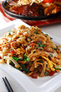 Thai fried rice noodle Royalty Free Stock Photo