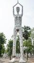 Thai ghost peta ghost thailand in watpairogwour Royalty Free Stock Images