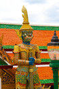 Thai Giant Royalty Free Stock Photo