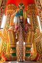 Thai giant statue guardian of the temple Stock Images
