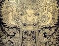 Thai Gold Leaf Art