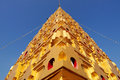Thai golden Bodh Gaya Royalty Free Stock Photography