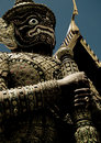 Thai guardian statue Stock Photography