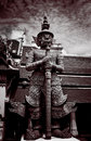 Thai guardian statue Stock Images