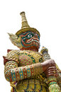 Thai guardian statue Stock Photos