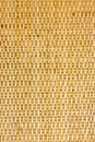 Thai handcraft of bamboo weave pattern for background use Royalty Free Stock Photography