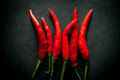 Thai hot red chili pepper Royalty Free Stock Photo