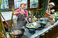 Thai kitchen Stock Photography