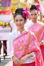 Thai lady smile Stock Photo