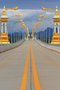 Thai-Lao friendship bridge Stock Images