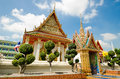 Thai local temple in thailand Royalty Free Stock Photo