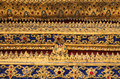 Thai motifs Stock Images