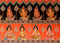 Thai mural painting art Royalty Free Stock Photo