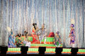 Thai Musical folk drama show Royalty Free Stock Photography