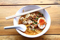 Thai noodle soup Royalty Free Stock Photo