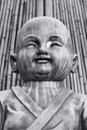 Thai novice in the temple Stock Image
