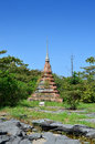 Thai pagoda Royalty Free Stock Images