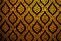 Thai pattern wallpaper culture art background Royalty Free Stock Photo