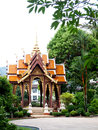 Thai pavilion traditional style in the middle of thailand Royalty Free Stock Photo