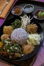 Thai Purple Rice Royalty Free Stock Photos