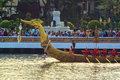 Thai Royal barge in Bangkok Royalty Free Stock Photography