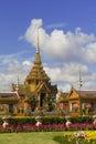 Thai Royal Crematorium in Bangkok, Thailand Stock Photo