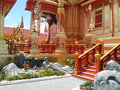 Thai royal funeral Stock Photos