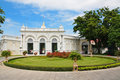Thai royal residence at bang pa in royal palace the scenic view of ayutthaya thailand Royalty Free Stock Image