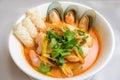 Thai Seafood Noodle Soup
