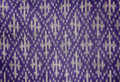 Thai silk art pattern abstacktraditional Royalty Free Stock Photo