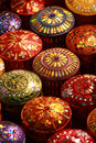 Thai Silk box Royalty Free Stock Photo
