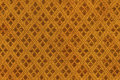 Thai silk fabric seamless knit pattern texture background. Royalty Free Stock Photo