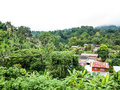 Thai small village chiang mai thailand Royalty Free Stock Images