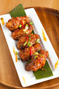 Thai Spicy Chicken Wings Appetizer