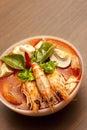 Thai Spicy Prawn Soup (Tom Yum)