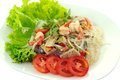 Thai spicy seafood salad Stock Photography
