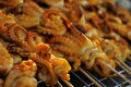 Thai Squid Satay Stock Images
