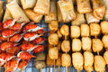 Thai street food Stock Images