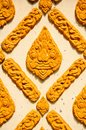 Thai Stucco in a temple Stock Images