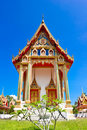 Thai style church Royalty Free Stock Images