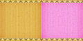 Thai style complex orange and pink card board texture for note or congratulate Stock Photos