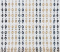 Thai style fabric pattern Stock Photography