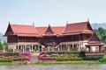 Thai style house Stock Image