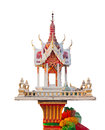 Thai style joss house Stock Images