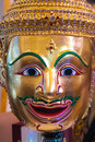 Thai style mask traditional calls khon Royalty Free Stock Photo